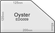 Commercial concrete edge 009 oyster
