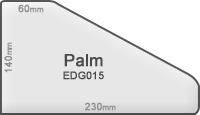 concrete edge 015 palm
